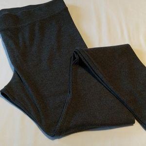 Women's Grey Ribbed Lounge Leggings VGUC!